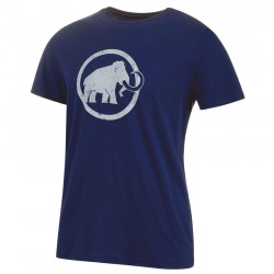 triko MAMMUT Logo T-Shirt Men peacoat