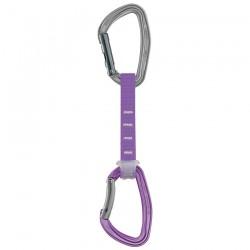 expreska PETZL Djinn Axess 12cm violet