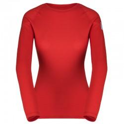triko ZAJO Elsa Merino W T-shirt LS racing red