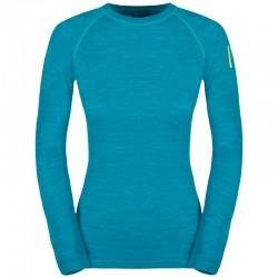 triko ZAJO Nora Merino W T-Shirt LS enamel blue