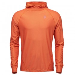 BLACK DIAMOND M LS Alpenglow Hoody redwood