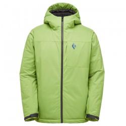 bunda BLACK DIAMOND M Pursuit Ski Shell Hoody verde