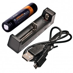 nabíječka FENIX MC1 USB + akumulátor 3400 mAh