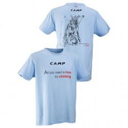 triko CAMP Climbing Tee blue