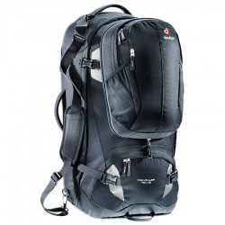 batoh DEUTER Traveller 70+10 black/silver