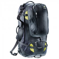batoh DEUTER Traveller 80+10 black/moss