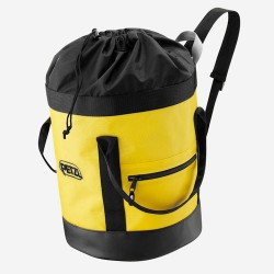 vak PETZL Bucket 25 black/yellow