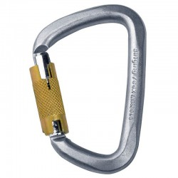 karabina SINGING ROCK D Steel Triple Lock