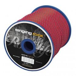 šňůra SINGING ROCK Cord 7mm red/grey
