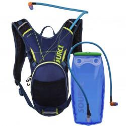 batoh SOURCE Pulse 3L Dark Blue/Green