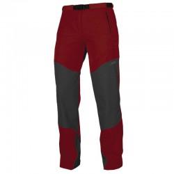 kalhoty DIRECTALPINE Patrol Lady 4.0 red/grey