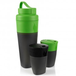 set LIGHT MY FIRE Pack-up-Drink Kit green/black