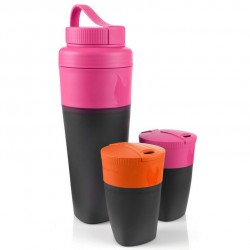 set LIGHT MY FIRE Pack-up-Drink Kit fuchsia/orange