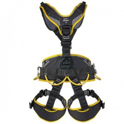 postroj SINGING ROCK Expert 3D Speed black/yellow