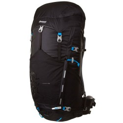 batoh BERGANS Rondane 65 black/bright sea blue