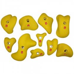 chyty OCÚN Holds Set 3 Modulars yellow