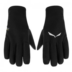 rukavice SALEWA Puez PL Gloves black out