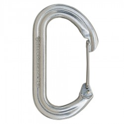 karabina BLACK DIAMOND OvalWire Carabiner Polished