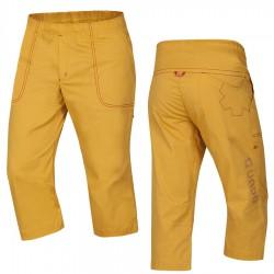 kalhoty OCÚN Jaws 3/4 Pants golden yellow