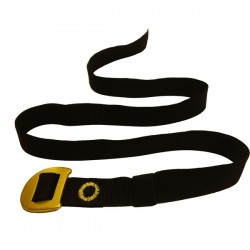 opasek CAMP Webbing Belt black/yellow