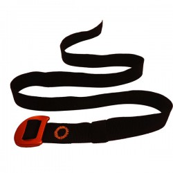 opasek CAMP Webbing Belt black/orange