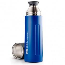 GSI OUTDOORS Glacier Stainless 1L Vacuum Bottle blue