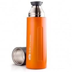 termoska GSI OUTDOORS Glacier Stainless 1L Vacuum Bottle orange