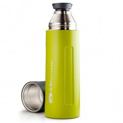 termoska GSI OUTDOORS Glacier Stainless 1L Vacuum Bottle green