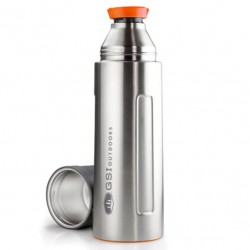 termoska GSI OUTDOORS Glacier Stainless 1L Vacuum Bottle stainless