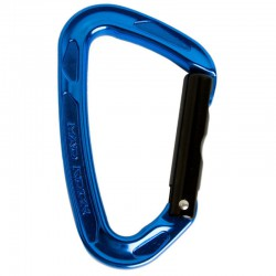 karabina MAD ROCK Super Tech Bent Gate blue