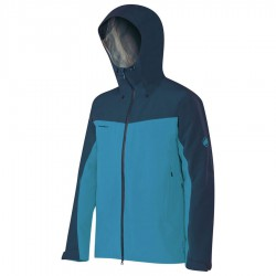bunda MAMMUT Crater HS Hooded GTX Jacket atlantic