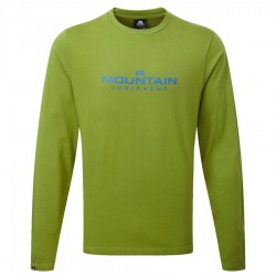 triko MOUNTAIN EQUIPMENT Logo LS Tee kiwi