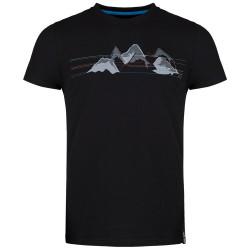 triko ZAJO Bormio T-Shirt SS black mountains