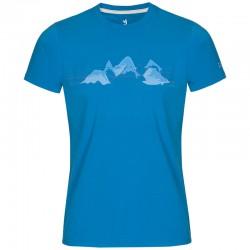 triko ZAJO Bormio T-Shirt SS ibiza blue mountains