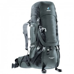 batoh DEUTER Aircontact 45+10 granite/black