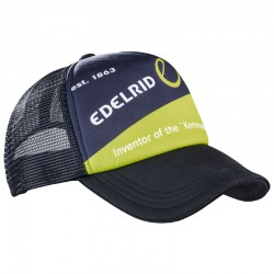 kšiltovka EDELRID Trucker Cap night