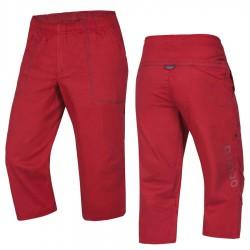 kalhoty OCÚN Jaws 3/4 Pants garnet red