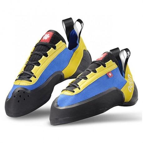 lezečky OCÚN Strike LU blue/yellow