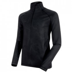 MAMMUT Snow ML Half Zip Pull Men black/black