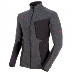 bunda MAMMUT Stoney ML Wool Jacket phantom/titanium