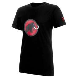 triko MAMMUT Logo T-Shirt Men black/magma