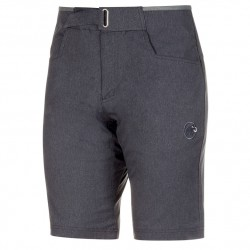 kraťasy MAMMUT Massone Shorts Men black melange