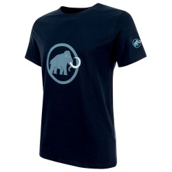triko MAMMUT Logo T-Shirt Men marine/cloud