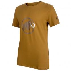 triko MAMMUT Logo T-Shirt Men sand/dark sand