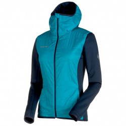 bunda MAMMUT Aenergy IN Hybrid Jacket Women aqua marine 59bce8f3232