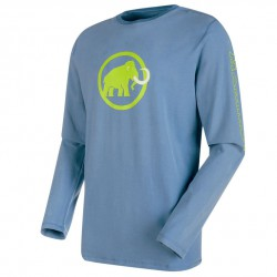 triko MAMMUT Snow Longsleeve Men cloud
