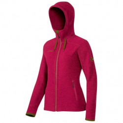 bunda MAMMUT Arctic Hooded ML Jacket Women crimson