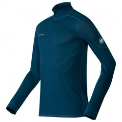 MAMMUT Go Dry Zip Longsleeve Men orion