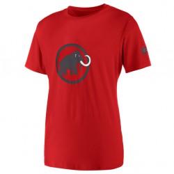 triko MAMMUT Logo T-Shirt Men lava
