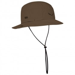 klobouk SALEWA Puez Sun Protect Brimmed Hat bark brown